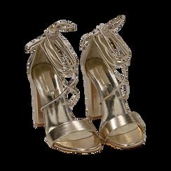 CALZATURA SANDALO LAMINATO OROG, Chaussures, 152760851LMOROG036, 002 preview