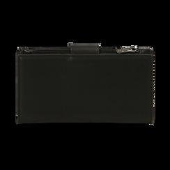Portafogli nero, Borse, 155122158EPNEROUNI, 004 preview