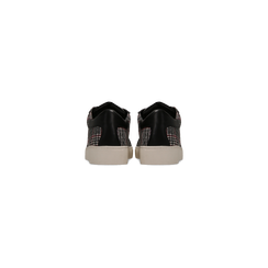 Sneakers Tweed con tacco basso, Scarpe, 122915602TSNEGR, 003 preview