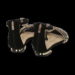 WOMEN SHOES FLAT MICROFIBER NERO, Zapatos, 152130898MFNERO036, 004 preview