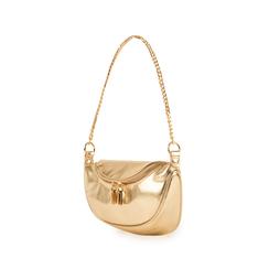 Petit sac doré en simili-cuir brillant, Sacs, 155122722LMOROGUNI, 004 preview
