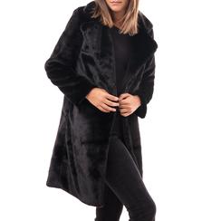 Eco-Pelliccia nera, Abbigliamento, 14B443004FUNERO3XL, 001a