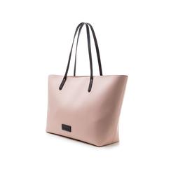 Maxi-bag rosa in eco-pelle con manici neri, Borse, 133783134EPROSAUNI, 004 preview