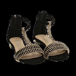 WOMEN SHOES FLAT MICROFIBER NERO, Zapatos, 152130898MFNERO036, 002 preview