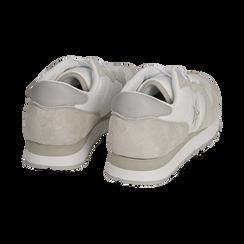 Sneakers en microfibra color blanco, Zapatos, 150620011MFBIAN036, 004 preview
