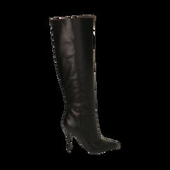 Stivali neri, tacco 10,50 cm , Primadonna, 162146862EPNERO038, 001 preview