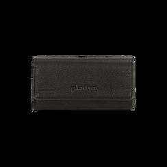 Portefeuille noir bottalato, IDEE REGALO, 165131611ELNEROUNI, 001 preview