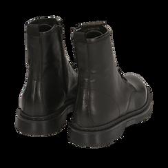 Anfibi neri in pelle di vitello, Primadonna, 148901801VINERO040, 004 preview