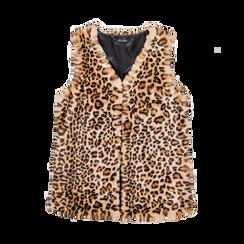 Smanicato di Pelliccia Leopardata, Abbigliamento, 12B400303FULEOP, 001 preview