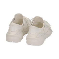 Dad shoes en tejido tecnico color blanco, Zapatos, 15F609059TSBIAN035, 004 preview