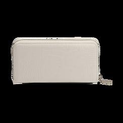 Portafogli bianco stampa cocco, Borse, 155122519CCBIANUNI, 004 preview