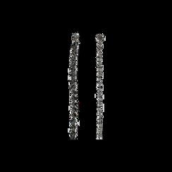 Cintura metallica canna di fucile con cristalli , Abbigliamento, 144010325MTCANNUNI, 001 preview