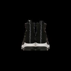 Sneakers trainer nere con suola super light, Scarpe, 129367111MFNERO, 003 preview