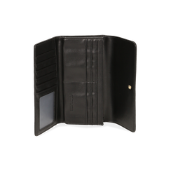 Portefeuille noir en microfibre, IDEE REGALO, 165131611MFNEROUNI, 003 preview