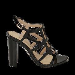 WOMEN SHOES SANDAL EP-PATENT NERO, Chaussures, 152123413VENERO036, 001a