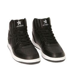 Sneakers nere , Primadonna, 182621186EPNERO035, 002a