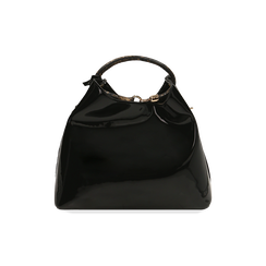 Sac noir en verni, IDEE REGALO, 16D200052VENEROUNI, 003 preview