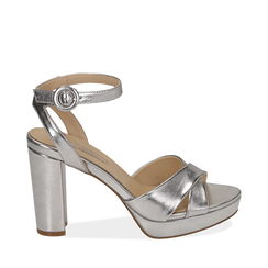 WOMEN SHOES SANDAL LAMINATED ARGE, Chaussures, 152118585LMARGE035, 001a