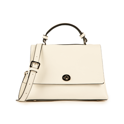 Mini bag bianca in eco-pelle, Borse, 155700372EPBIANUNI, 001 preview