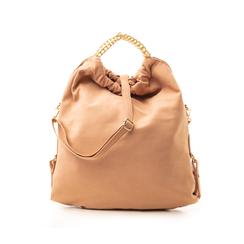 Maxi-bag nude in microfibra , Borse, 132403282MFNUDEUNI, 001 preview
