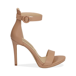 WOMEN SHOES SANDAL ECO-LEATHER NUDE, PROMOTIONS, 152123343EPNUDE036, 001 preview
