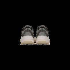 Sneakers grigie dad shoes, Scarpe, 124180229TSGRIG, 003 preview