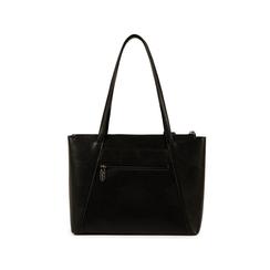 Maxi-bag nera in eco-pelle, Primadonna, 155768941EPNEROUNI, 003 preview