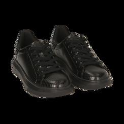 Sneakers nere stampa vipera , Primadonna, 162602011EVNERO036, 002 preview