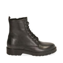 Rangers noirs en cuir, Primadonna, 18B810802PENERO035, 001a