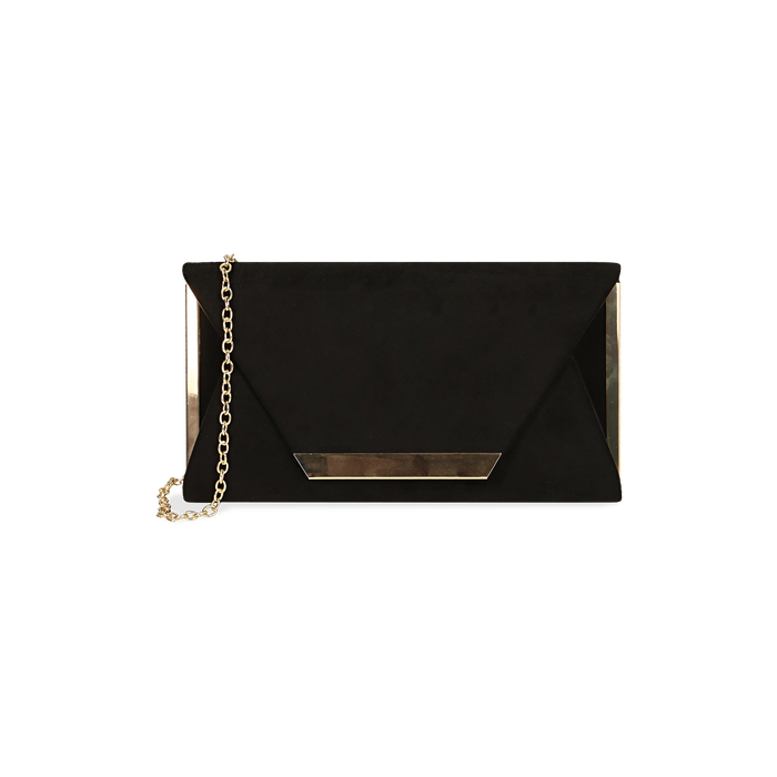 Petit sac en microfibre noir, IDEE REGALO, 165123002MFNEROUNI