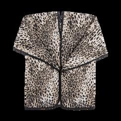 Poncho leopard, Abbigliamento, 12B409676TSLEOP, 001a preview
