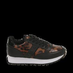 Sneakers léopard , Primadonna, 162619079EPLEMA035, 001a