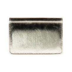 Borsa argento stampa vipera, Primadonna, 155122414EVARGEUNI, 003 preview