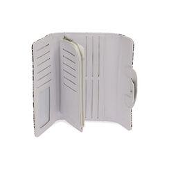 Portafogli bianco/nero stampa pitone , Primadonna, 175102538PTBINEUNI, 003 preview