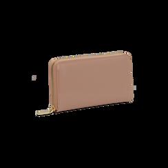 Portafoglio nude in ecopelle vernice , Borse, 122200896VENUDEUNI, 003 preview