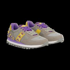 Sneakers grigie color block, Primadonna, 122618834MFGRIG035, 002 preview
