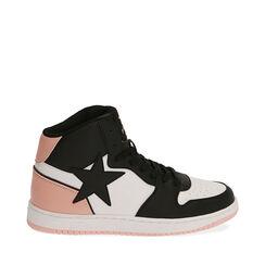 Sneakers nero/rosa , Primadonna, 182621186EPNERA035, 001a