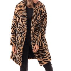 Eco-Pelliccia tigrata, Abbigliamento, 14B443005FUTIGR3XL, 001a