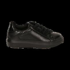 Sneakers nere stampa vipera , Primadonna, 162602011EVNERO036, 001 preview