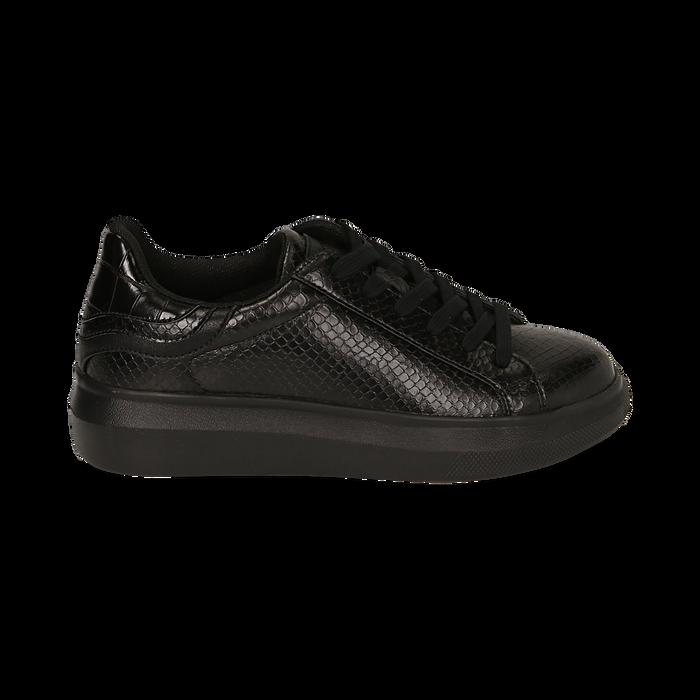Sneakers nere stampa vipera , Primadonna, 162602011EVNERO036