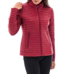 Piumino rosso in nylon, Abbigliamento, 148500573NYROSS3XL, 001a