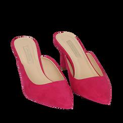 CALZATURA SABOT MICROFIBRA FUCS, Zapatos, 152133675MFFUCS037, 002a