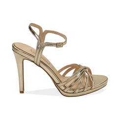 WOMEN SHOES SANDAL LAMINATED OROG, PROMOTIONS, 152174020LMOROG036, 001 preview