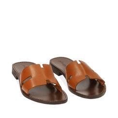 Chaussons en cuir de vachette, Primadonna, 15D620004VACUOI036, 002a