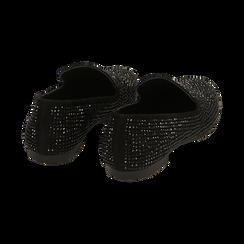 Mocassini gioiello neri in microfibra, Primadonna, 164982508MPNERO035, 004 preview