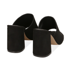 CALZATURA CIABATTE MICROFIBRA NERO, Chaussures, 154998161MFNERO036, 004 preview