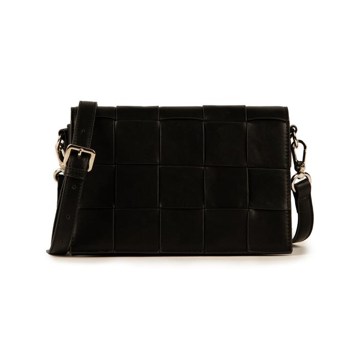 Bandoulière noir en simili-cuir, Sacs, 155701708EPNEROUNI
