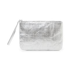 Pochette mare argento in paglia, Primadonna, 119061710PGARGEUNI, 001 preview