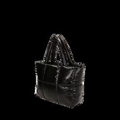 Sac duvet noir en tissu, Primadonna, 165122545TSNEROUNI, 002a