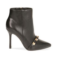 Ankle boots noirs, talon 11 cm , Primadonna, 182146860EPNERO035, 001a